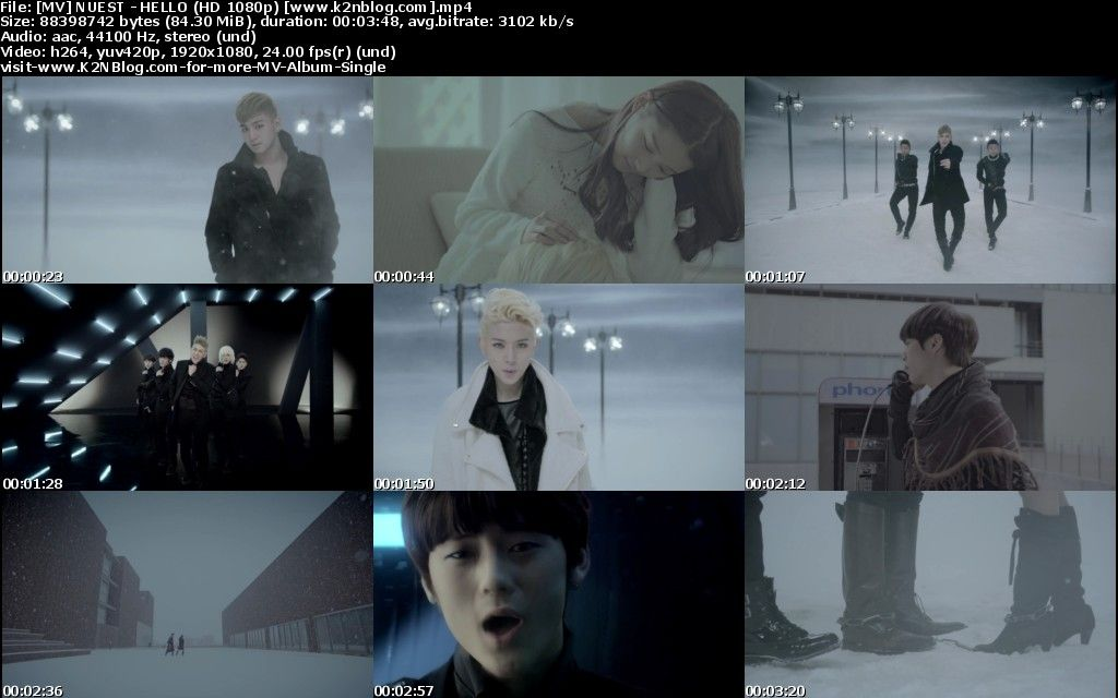 [MV] NU'EST - HELLO (HD 1080p Youtube)