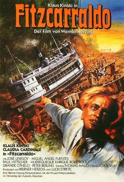 fitzcarraldp Werner Herzog   Fitzcarraldo (1982)