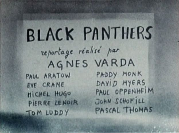ssiv Agnès Varda   Black Panthers (1968)