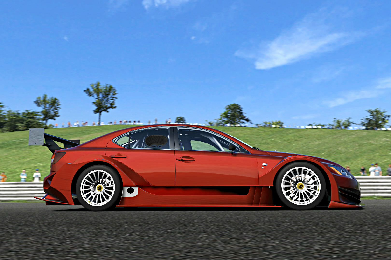 Gt5 Lexus Is F Racing Concept. Lexus IS F Racing Concept