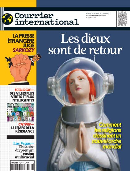 Courrier international N°1169 du 28 Mars au 3 Avril 2013