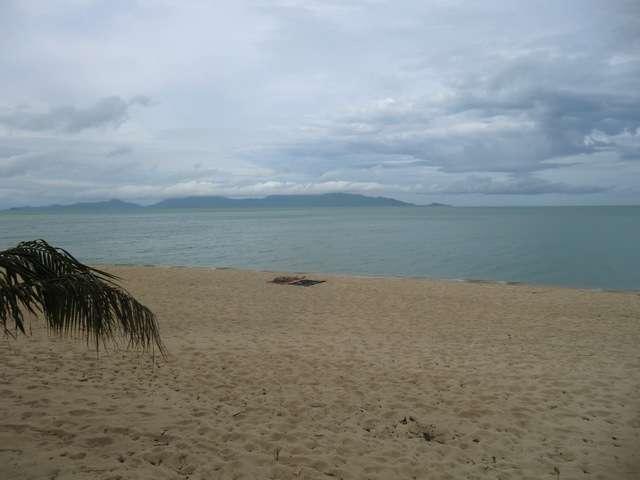 unser Platz am Strand