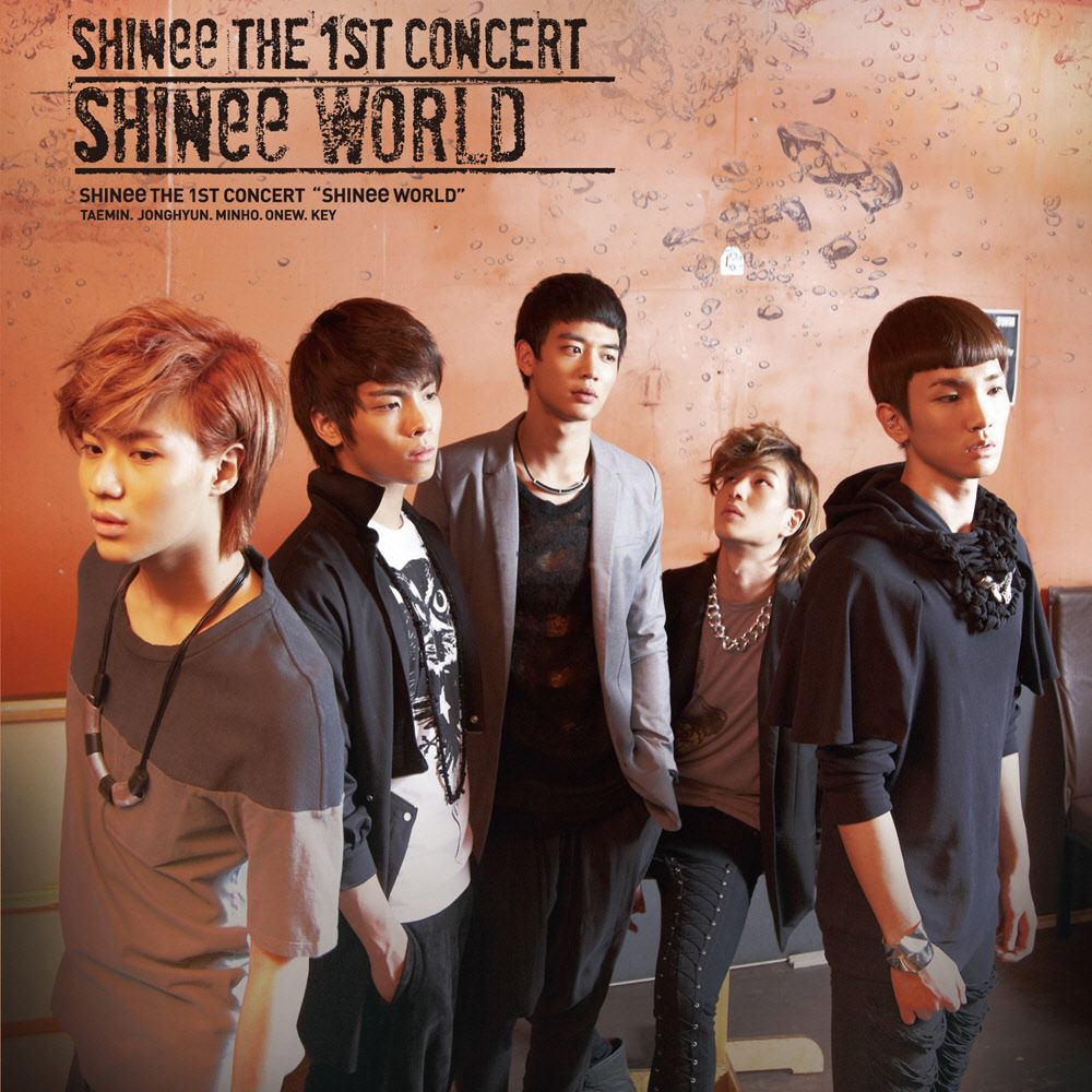 [Album] SHINee - The 1st Asia Tour Concert Album 'SHINee WORLD'