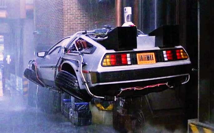 backtothefutureflyingde - Así iban a ser los coches del futuro, según la ciencia-ficción