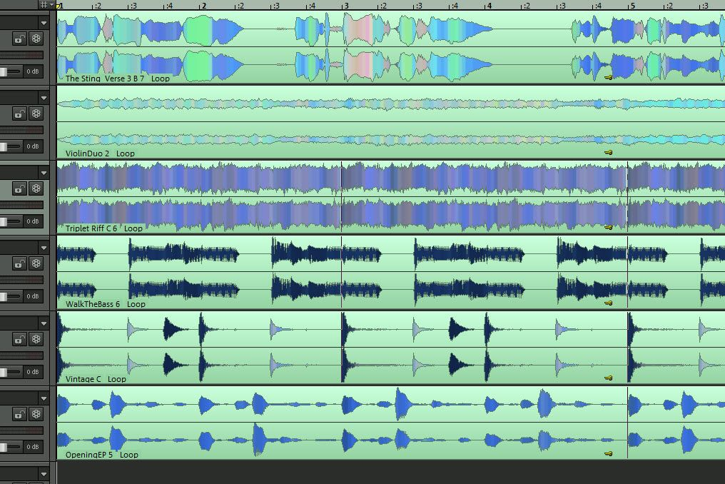 Are there any other DAW's that have mixer folder tracks like