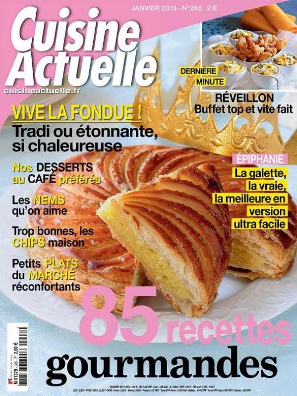 Cuisine Actuelle 265 Janvier 2013